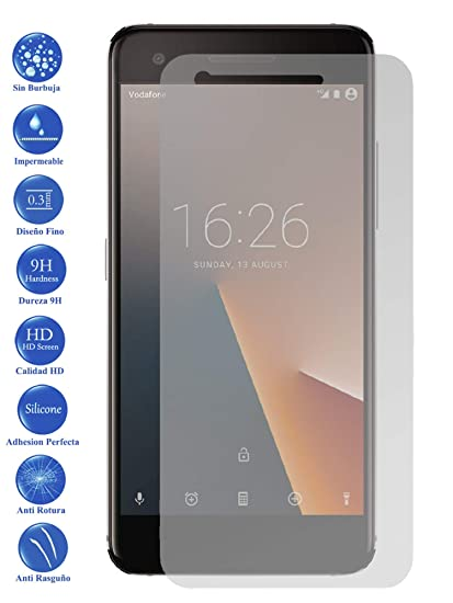 Todotumovil Protector de Pantalla Cristal Templado Vidrio 9H Premium para Vodafone Smart V8