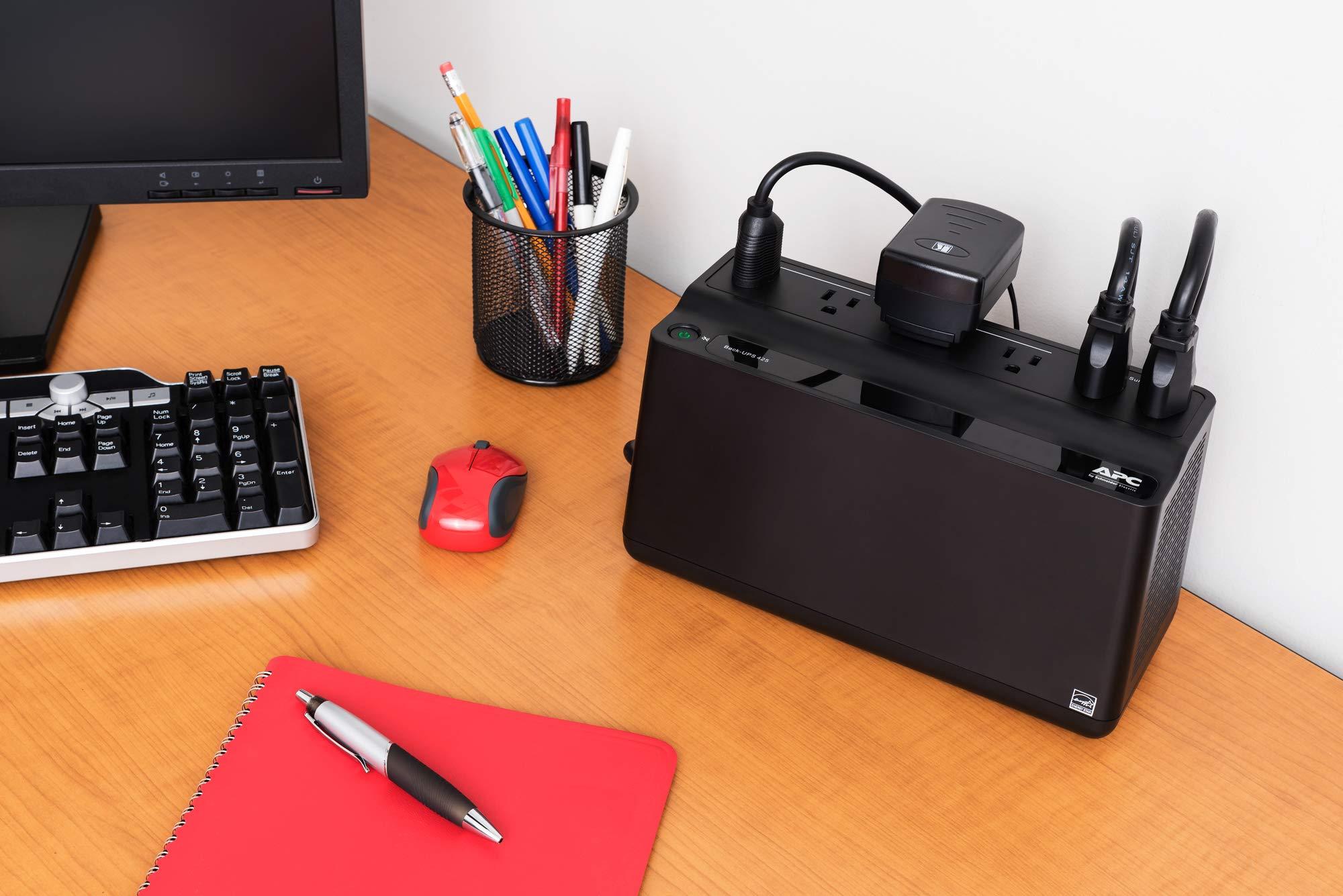 APC UPS Battery Backup & Surge Protector 3