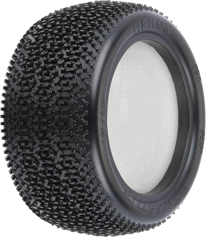 2 PRO8292103 Pro-line Racing Hexon 2.2 Z3 Carpet Buggy Rear Tires