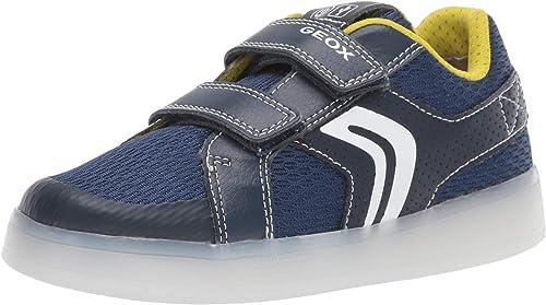 Girar Resplandor sustantivo  Geox Boy's J Kommodor A Low-Top Sneakers, Blue (Navy/Lime C0749), 11 UK  Child: Amazon.co.uk: Shoes & Bags