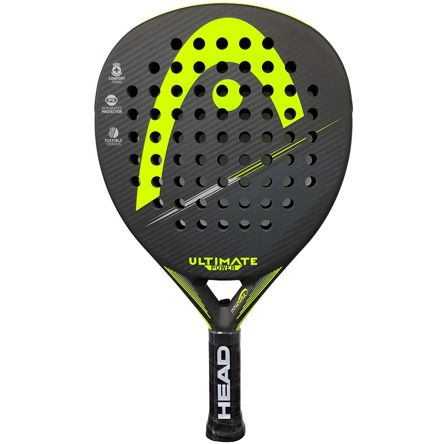 Head Pala de Padel Ultimate Power Yellow 2018: Amazon.es: Deportes ...