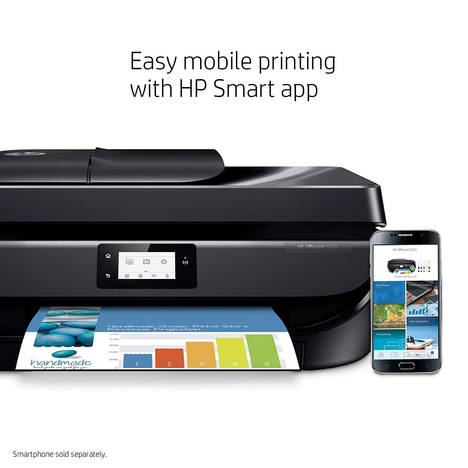 Officejet 5255 Wireless All In One Printer Unboxed