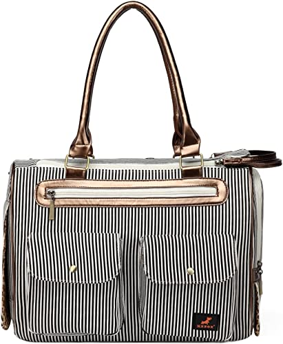 Kenox-Fashion-Dog-Cat-Pet-Carrier-Bags-Travel-Mesh-Tote-Handbag