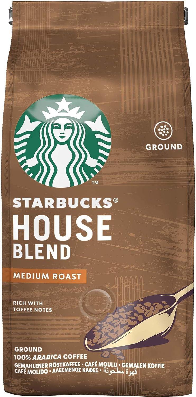 Café Torrado e Moído, Starbucks, House Blend, 250g por STARBUCKS