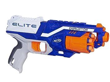 Nerf N-Strike Elite: Strongarm Blaster by Nerf,  http://smile.amazon.com/dp/B00DW1JT5G/ref=cm_sw_r_pi_dp_Hg5.ybGZ0X8WG |  Sibi's Gift List | Pinterest | Nerf