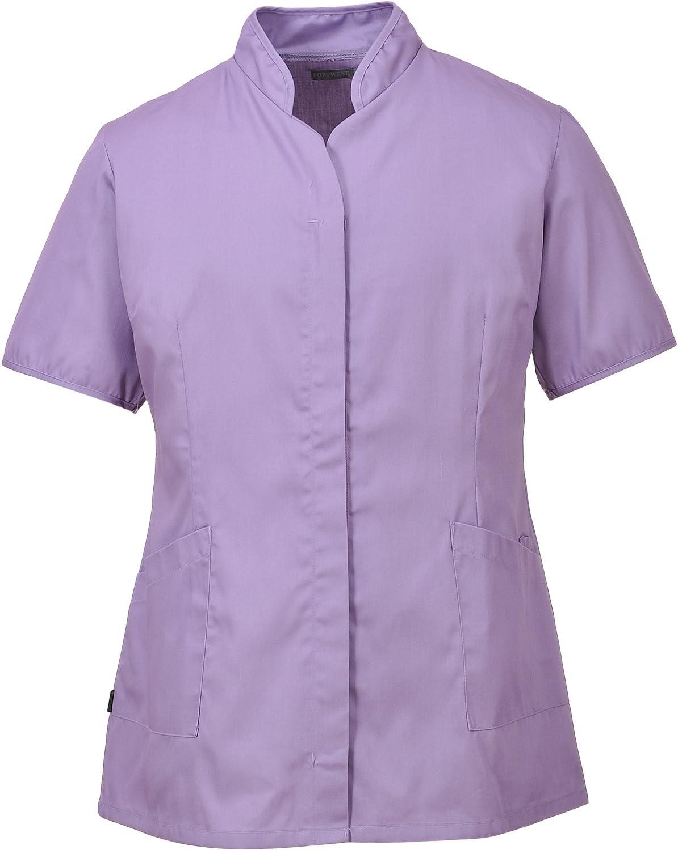 Portwest LW12LIRL - Camisa para mujer, color lila, talla grande: Amazon.es: Bricolaje y herramientas