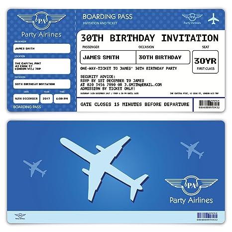 Tarjetas de invitación a fiesta de cumpleaños - Tarjeta de ...