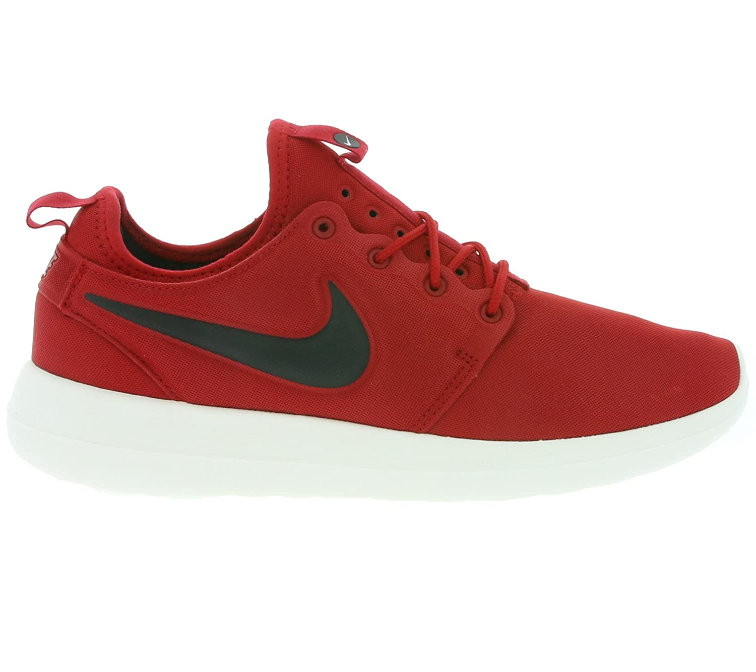 7bfdd6825bbf Nike Roshe Two Mens Shoes Gym Red Black Sail Volt 844656-600 (9. 5 D(M)  US)  Buy Online at Low Prices in India - Amazon.in
