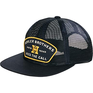 49b7a9dc69320e Howler Brothers Feedstore Snapback Hat - Black Mesh at Amazon Women's  Clothing store: