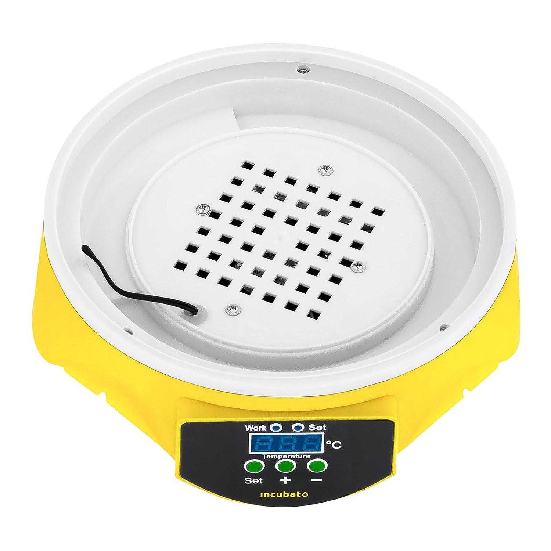 Incubato Brutapparat vollautomatisch Inkubator Brutmaschine Eierinkubator f/ür 7//48//56//88//96 Eier