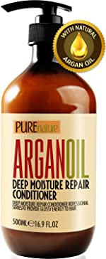 Moroccan Argan Oil Conditioner SLS Sulfate Free - Best Hair Conditioner