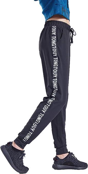 Imagen deGoVIA Leggins para Damas Pantalones Deportivos Largos para Training Running Yoga Fitness Transpirables con Cintura Alta 4106