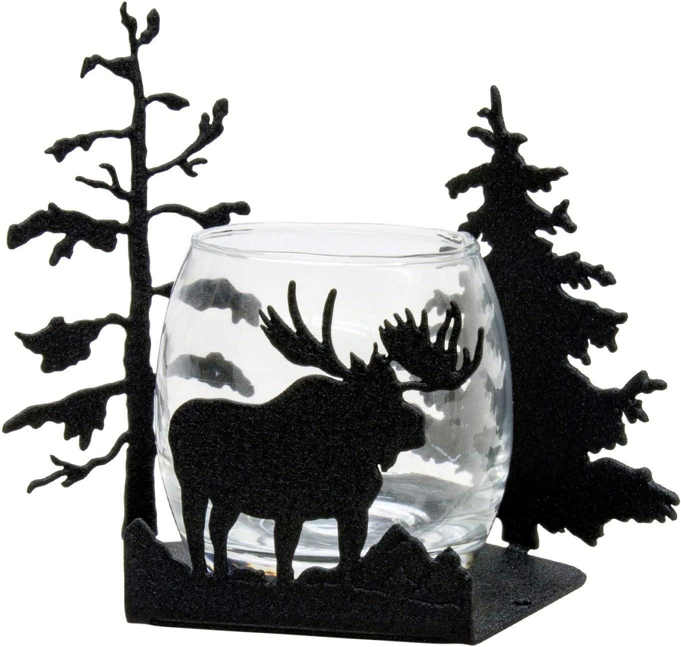 Innovative Fabricators, Inc. Moose Candlewrap Tea Light Votive Candle Holder