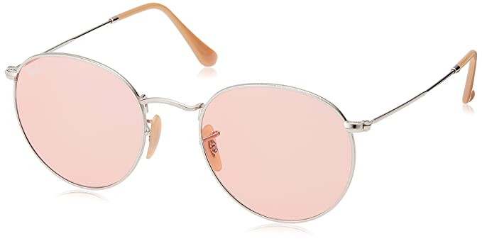 1da074f7bb Ray-Ban RAYBAN 0RB3447 9065V7 53 Montures de lunettes, Argenté (Silver/Pink