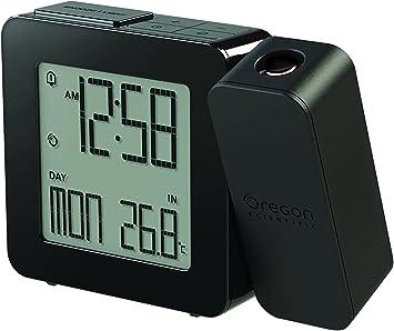 Oregon Scientific RM338P Reloj proyector con despertador y ...