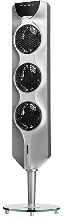 "Ozeri 3x Tower Fan (44"") With Passive Noise Reduction Technology by Ozeri"