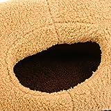 Kedera Cat Ear Shape Pet Dog Cat Sleeping Bag House Pet Blanket Mat for Cat