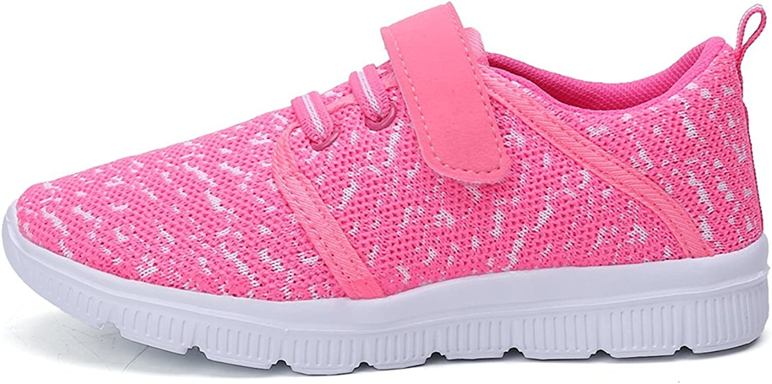 XIPAI Toddler Kids Cute Casual Lightweight Walking Athletic Shoes Boys and Girls Mesh Strap Sneakers