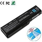 Enegitech Laptop Battery for Toshiba PA3817U-1BRS PA3817U-1BAS PA3818U PA3819U-1BRS Satellite C655 L600 L675 L675D L700 L745 L750 L750D L755 L755D M640 M645 P745, Replacement Battery