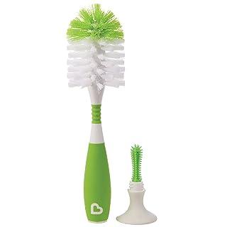 Munchkin Bristle Bottle Brush, Green 16024