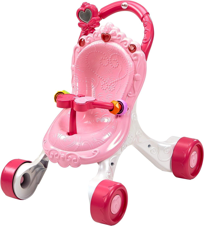 Fisher-Price Andador Cochecito de Muñecas, correpasillos bebé +9 meses (Mattel CGN65)