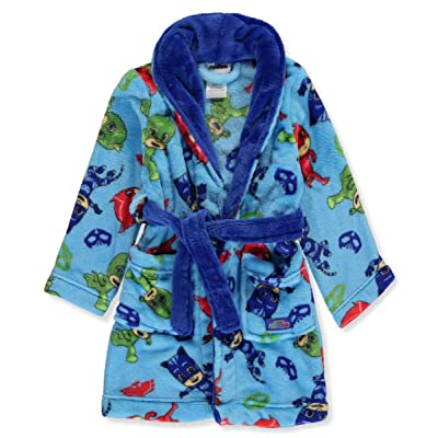 PJ Masks Toddler Boys' Catboy Owlette Gekko Plush Robe (2T): Clothing