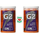 "Gatorade G2 Perform Grape Sports Drink Powder, 4.2 Ounce (Pack of 2) + ""Good Stuff"" Fridge Magnet"