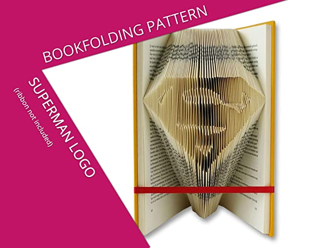 Amazoncom Superman Book Folding Pattern Handmade