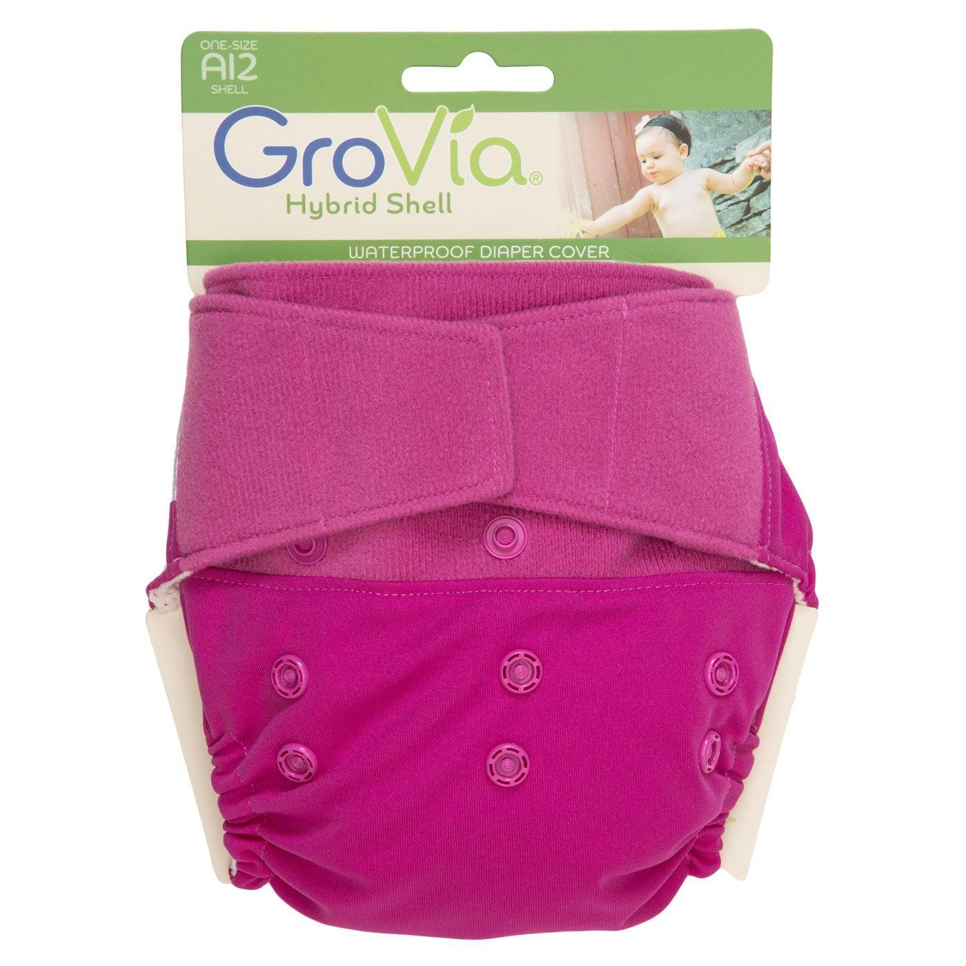 Lotus Hook and Loop GroVia Hybrid Cloth Diaper One Size