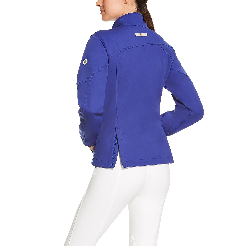 Ariat Avila Womens Softshell Jacket - Cobalt Blue: Amazon.co.uk: Clothing