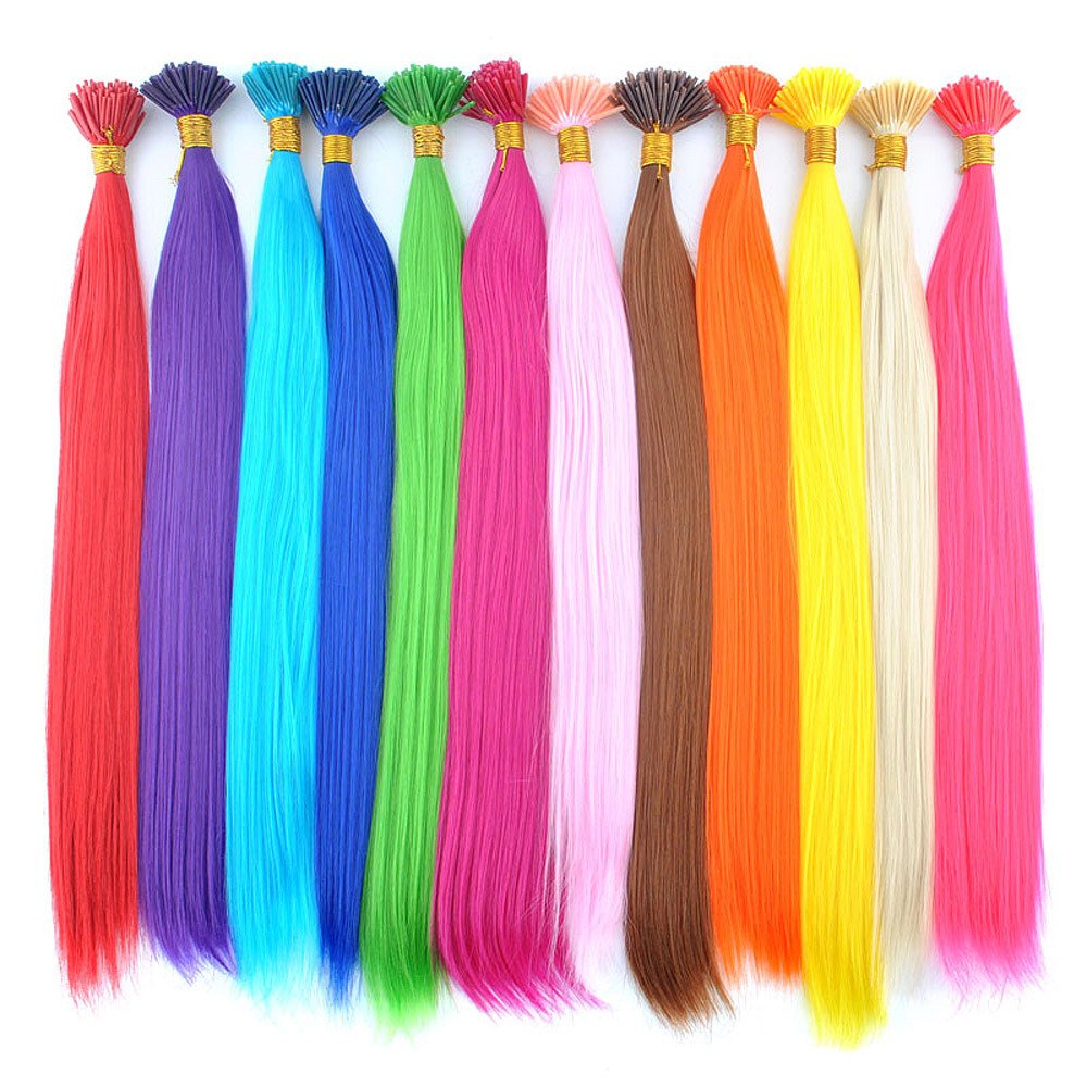 Amazon Deniya Synthetic I Tip Keratin Fusion Hair Extensions
