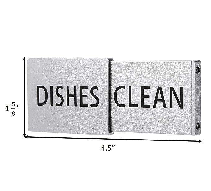 Amazon.com: Imán de metal premium para lavavajillas, señal ...