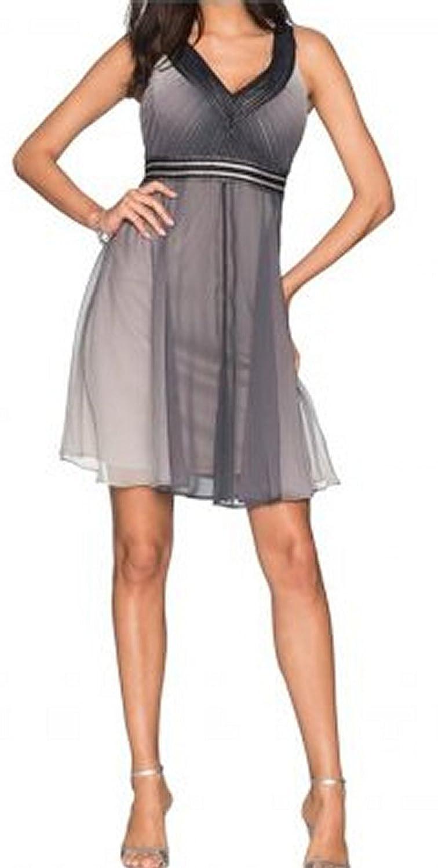 elegantes festliches Empire Kleid mit Farbverlauf Partykleid ...