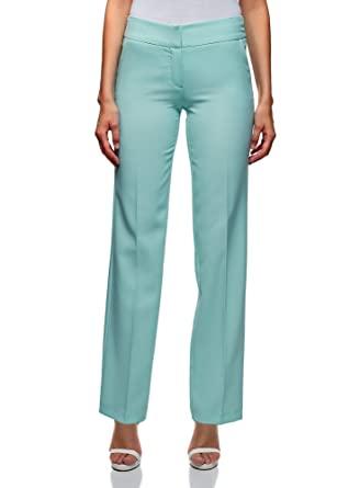 9b3f04f4715 oodji Ultra Femme Pantalon Classique à Plis  Amazon.fr  Vêtements et ...