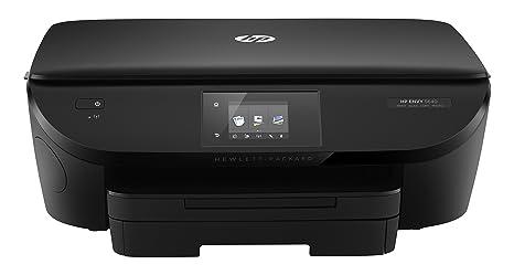 HP Envy 5640 e-AiO - Impresora multifunción (Inyección de Tinta, Color, Color, 12 ppm, 4800 x 1200 dpi, 8 ppm), Negro
