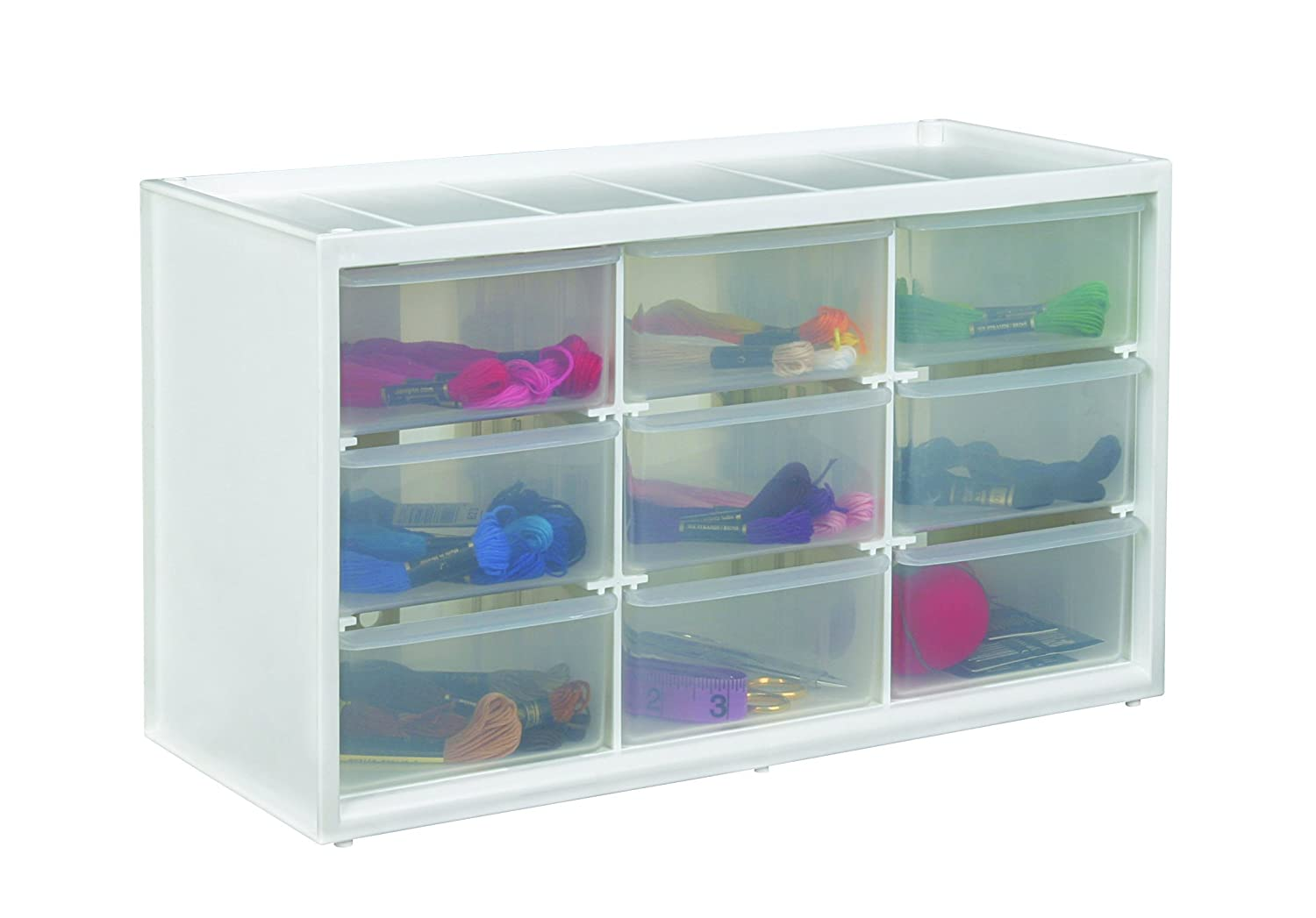 Amazon.com: ArtBin Store In Drawer Cabinet; 9 Art And Craft Supply Storage  Drawers, 6809PC
