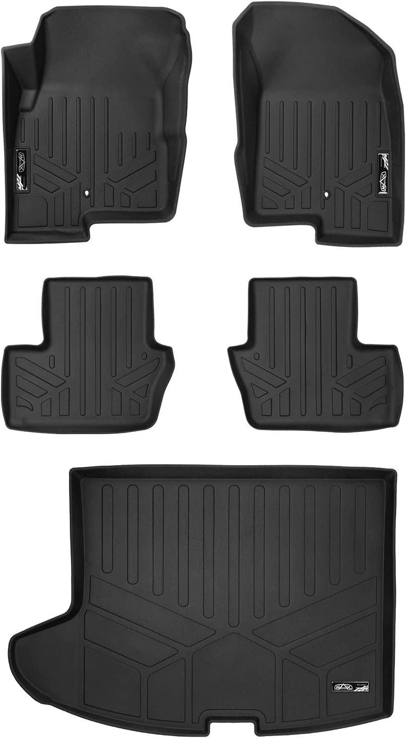 Husky Liners Weatherbeater Black Car Floor Mat Carpet For Jeep 2007-2017 Patriot