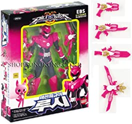 Miniforce Lucy Korean Robot Action Figure Pink 5.5