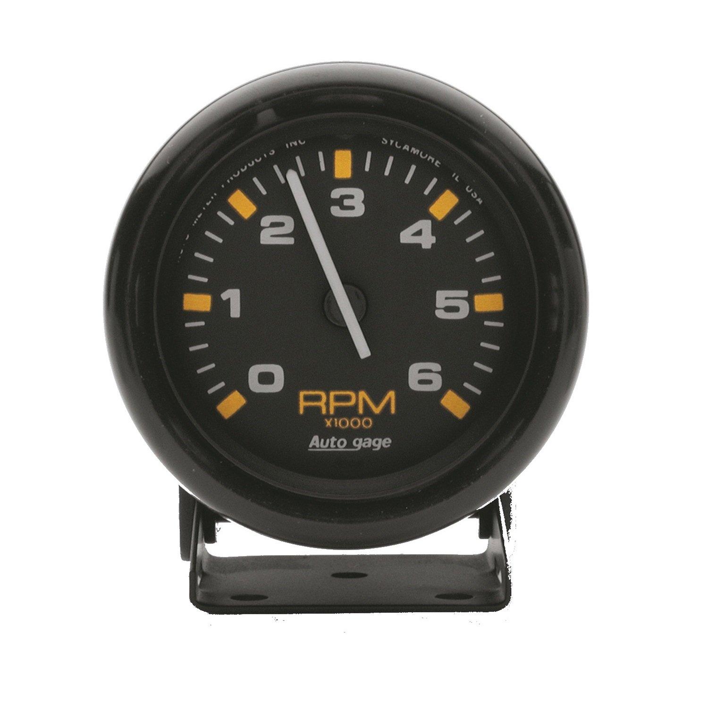 AUTO METER 2306 Autogage Mini Tachometer by AUTO METER