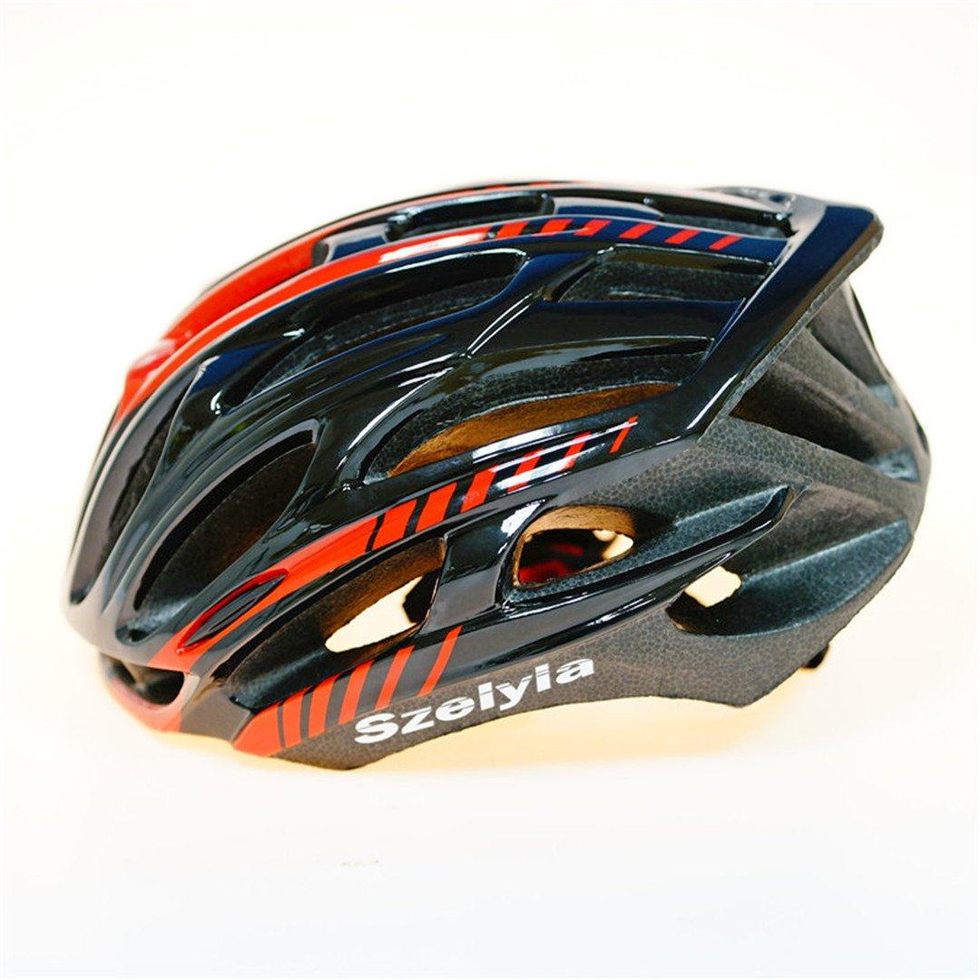 Amazon.com : helmett Scrohiro Mtb Mountain Bike Helmet Cascos Bicicleta Carretera Ciclismo Bicycle Cycling Intergrally Light blk : Sports & Outdoors