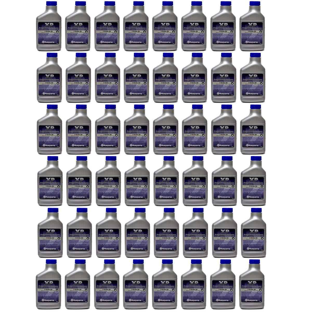 48PK Husqvarna 2 Cycle Stroke Engine XP Oil Synthetic Blend 2 Gallon Mix Case 5.2oz