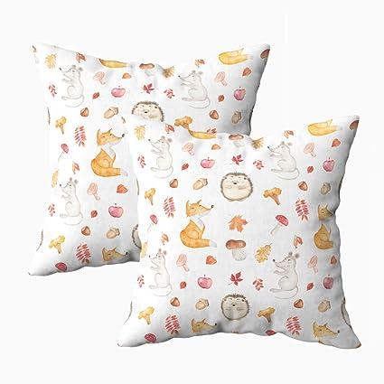 Amazon.com: Fundas de almohada de Navidad con cremallera, de ...