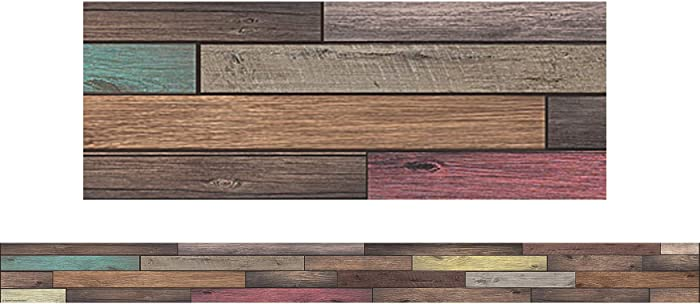 Top 10 Home Sweet Classroom Reclaimed Wood Border Trim
