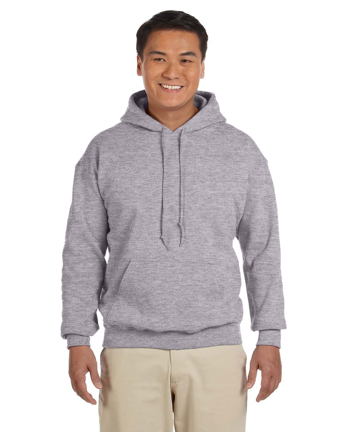 Gildan 18500 - Classic Fit Adult Hooded Sweatshirt Heavy Blend - First Qualit. by Gildan