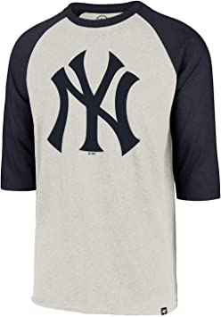 47 Camiseta Brand MLB New York Yankees Beige XL (X-Large): Amazon.es: Ropa y accesorios