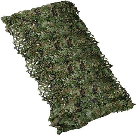 Verde e 0,5 * 1 m FYstar Rete Mimetica Militare Rete Mimetica Militare Copertura Auto Tenda da Caccia Persiane Rete Dimensioni opzionali Copertura Lunga Copertura Nascosta Rete