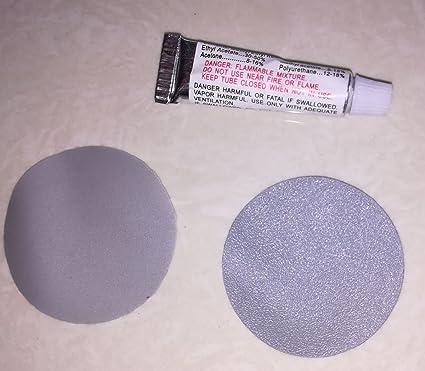 Amazon.com: Suxing - Kit de 4 parches de reparación de PVC ...