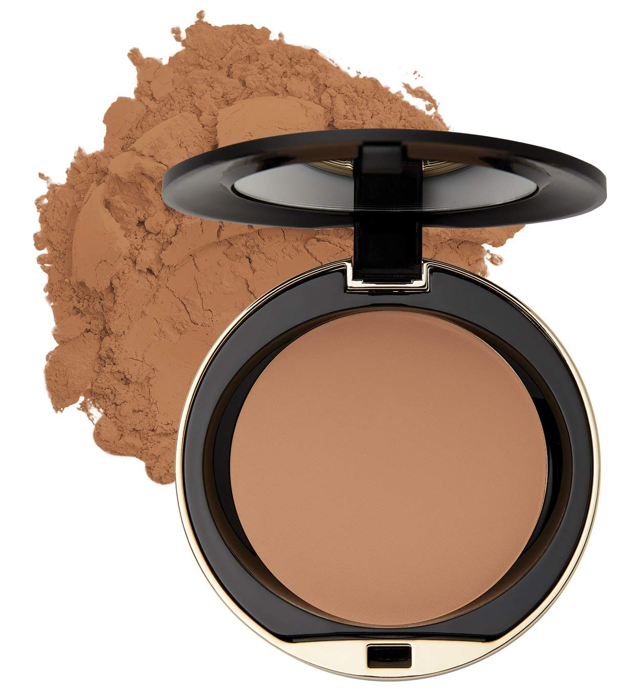 Milani Conceal + Perfect Shine-Proof Powder - (0.42 Ounce) Vegan, Cruelty-Free Oil-Absorbing Face Powder that Mattifies Skin and Tightens Pores (Deep)
