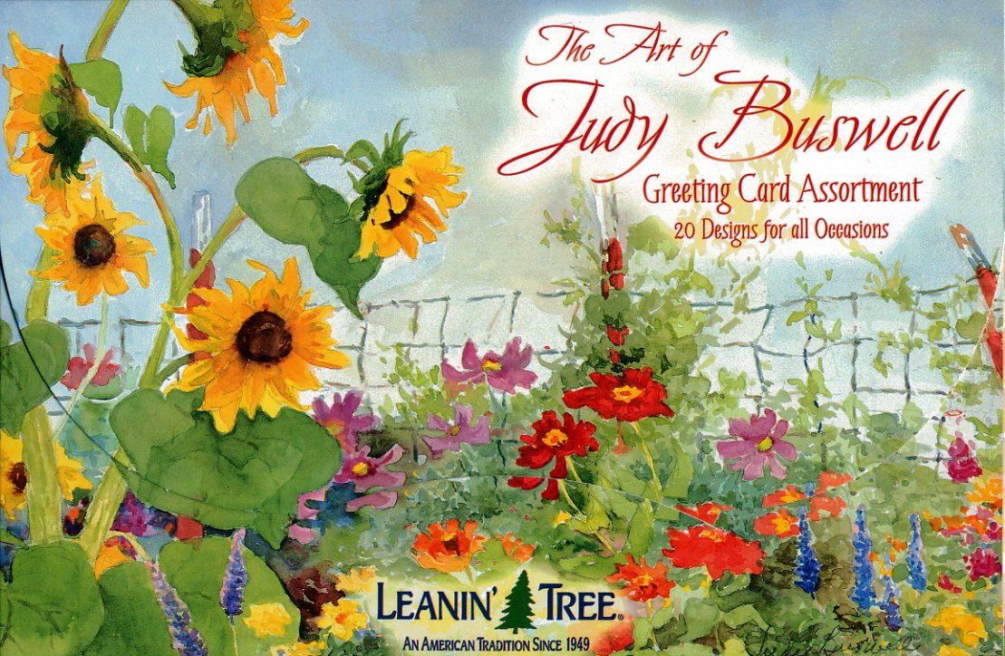 Amazon The Art Of Judy Buswell Leanin Tree Greeting Cards