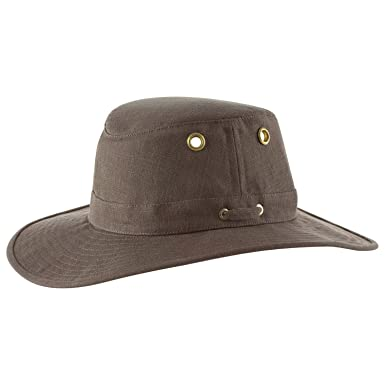 26f117720 Tilley Endurables TH4 Hemp Hat - Mocha - 7 5/8: Amazon.in: Clothing ...
